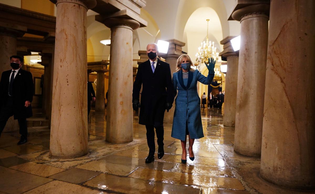 Джо Байден и его жена Джилл
