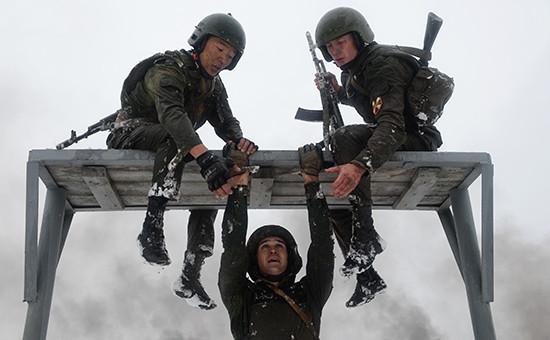 Военнослужащие подразделений специального назначения и разведки Федеральной службы войск национальной гвардии России