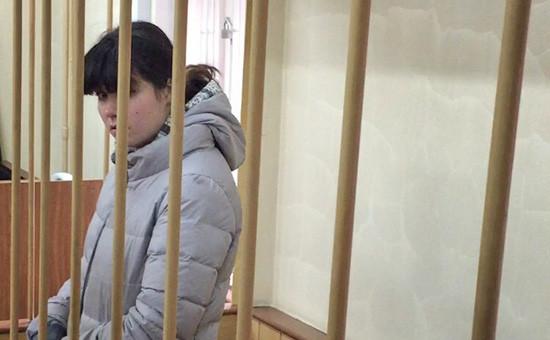Cтудентка МГУ Варвара Караулова