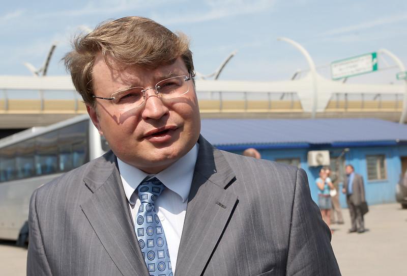 Новый глава комитета по развитию транспортной инфраструктуры Петербурга Андрей Левакин