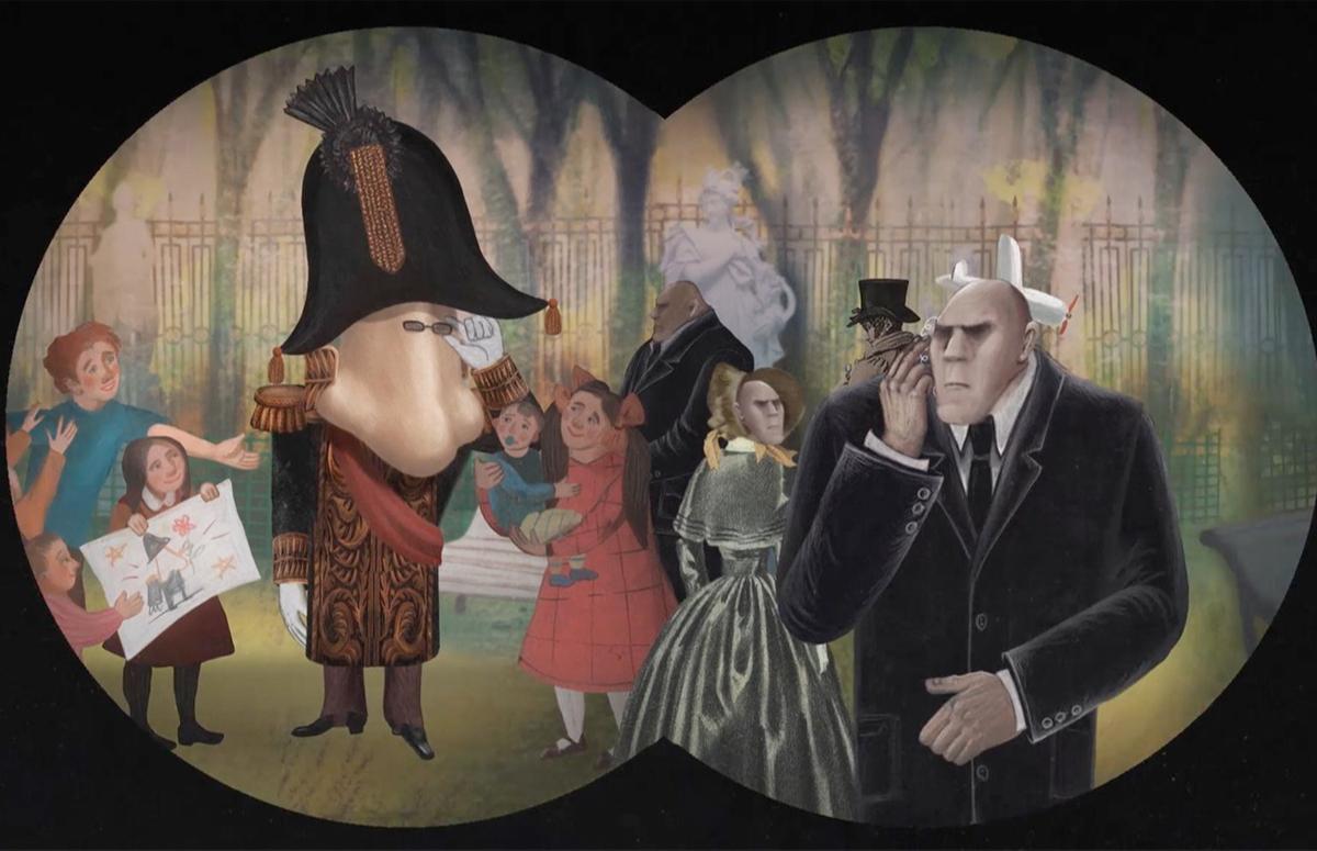 Кадр из фильма «Нос, или Заговор не таких»