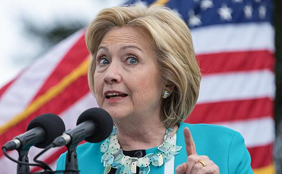 Бывший госсекретарьСШАХиллари Клинтон