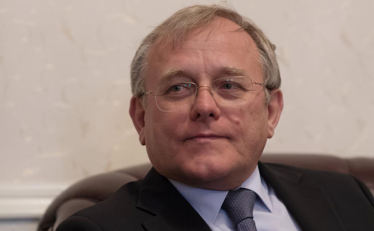 Посол России в КНДР Александр Мацегора