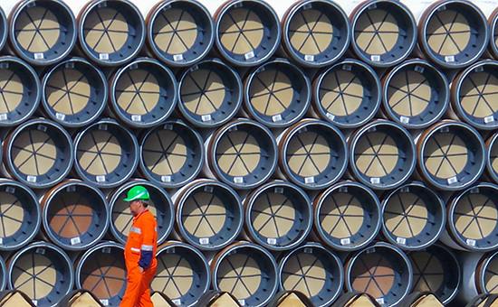 Трубы длястроительства газопровода