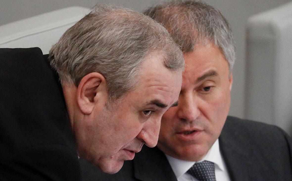 Сергей Неверов и Вячеслав Володин