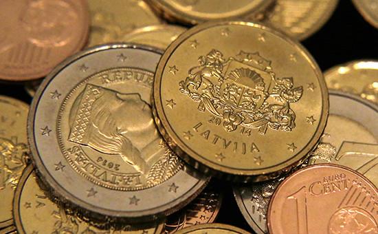 Монеты, выпущенные квступлению Латвии веврозону