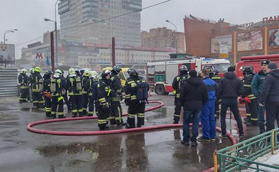 Пожарные возлестанции метро «Новые Черемушки»
