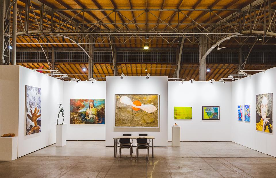 Стенд Galerie Michael Schultz на viennacontemporary 2017