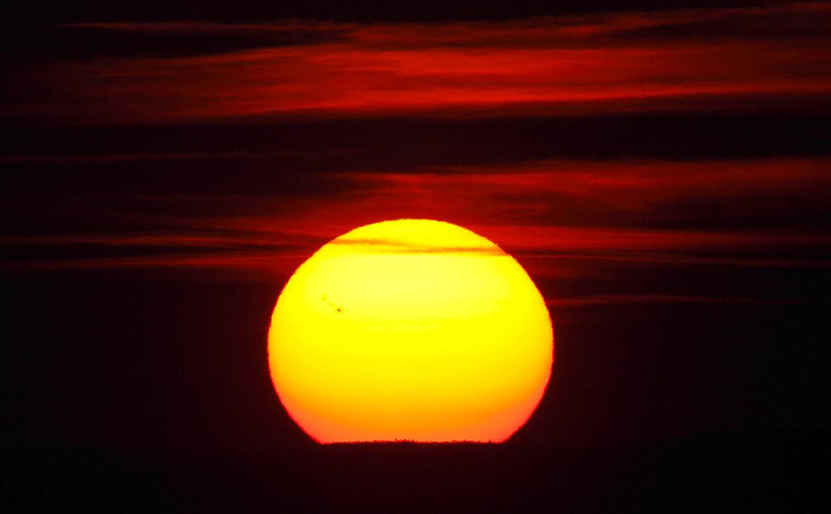 Пятна на Солнце. Сентябрь 2011 года