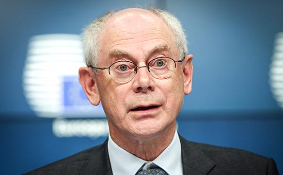 Глава Европейского совета Херман Ван Ромпей