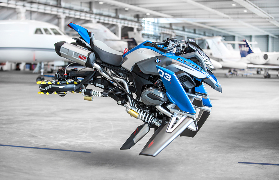 Летающий мотоцикл Hover Ride от BMW Motorrad и LEGO Technic