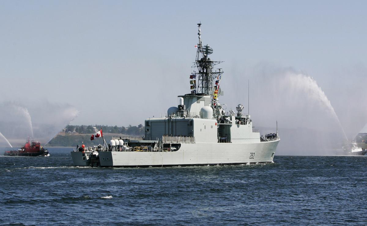 Канадский фрегат Ville de Quebec