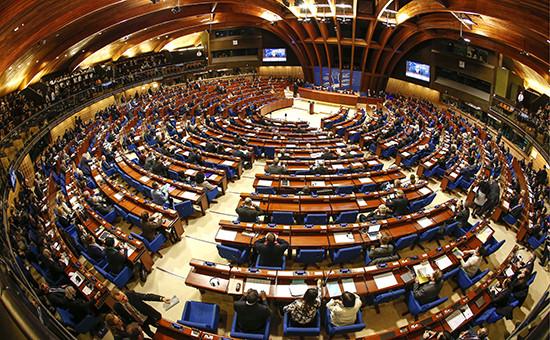 Сессия Парламентской ассамблеи Совета Европы вСтрасбурге