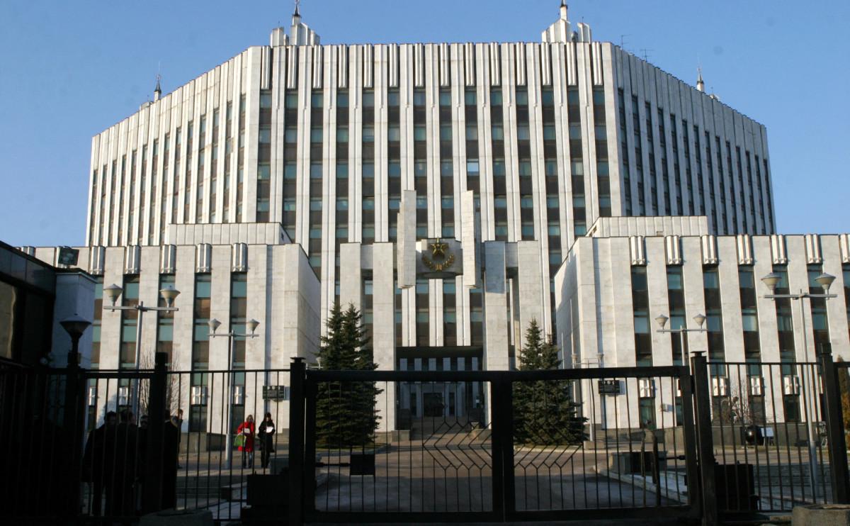 Здание Военной академии Генштаба в Москве
