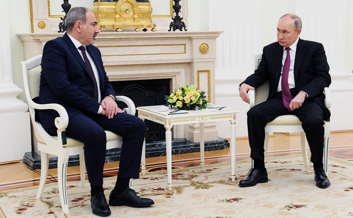 Пашинян предложил Путину идею строительства новой АЭС в Армении