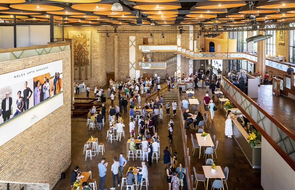 Rolex Arts Weekend 2020 в Театральном центре «Бакстер», Рондебош, ЮАР