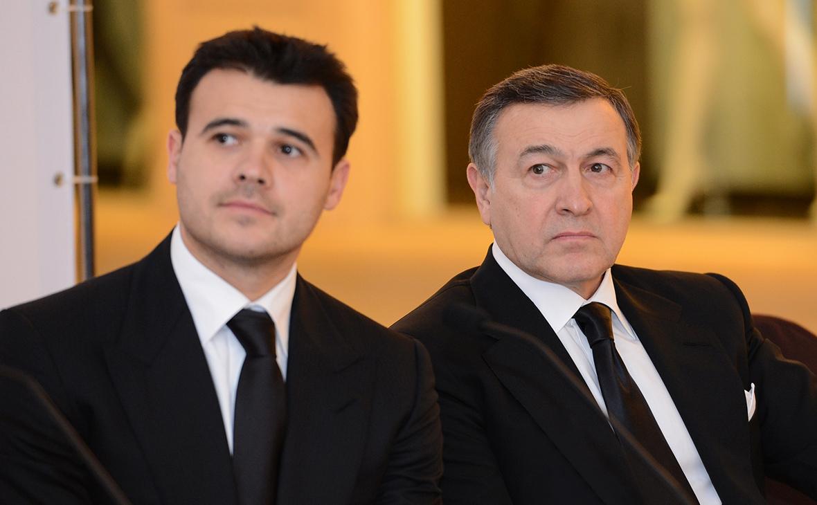 АрасАгаларов(справа)иЭмин Агаларов