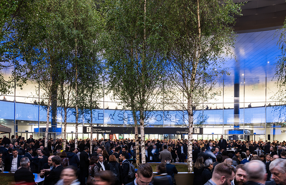 Выставочный комплекс Messe, Baselworld