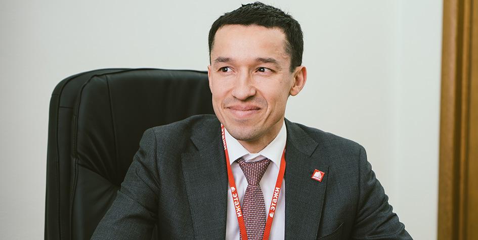 Директор федеральной компании «Этажи» Ильдар Хусаинов