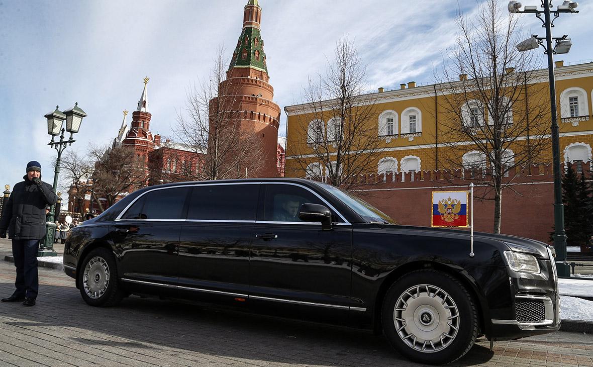 Российский лимузин Aurus