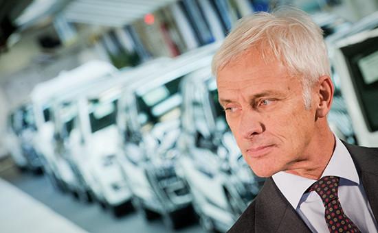 Новый глава VW Маттиас Мюллер