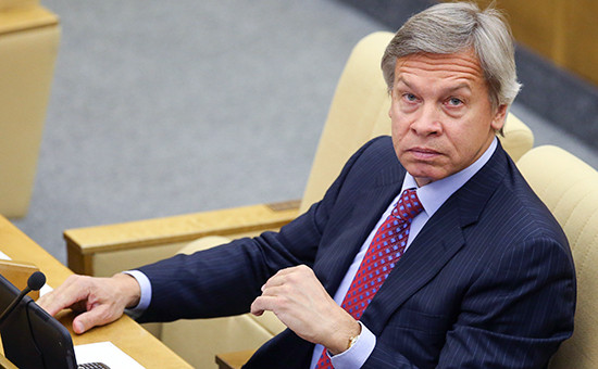 Глава комитета Госдумы помеждународным делам Алексей Пушков