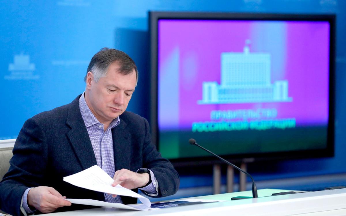 Вице-премьер РФ Марат Хуснуллин