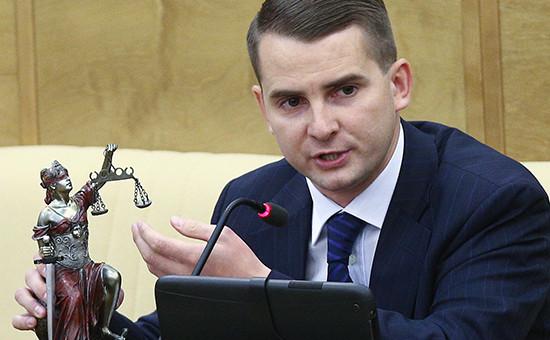 Депутат ЛДПР Ярослав Нилов