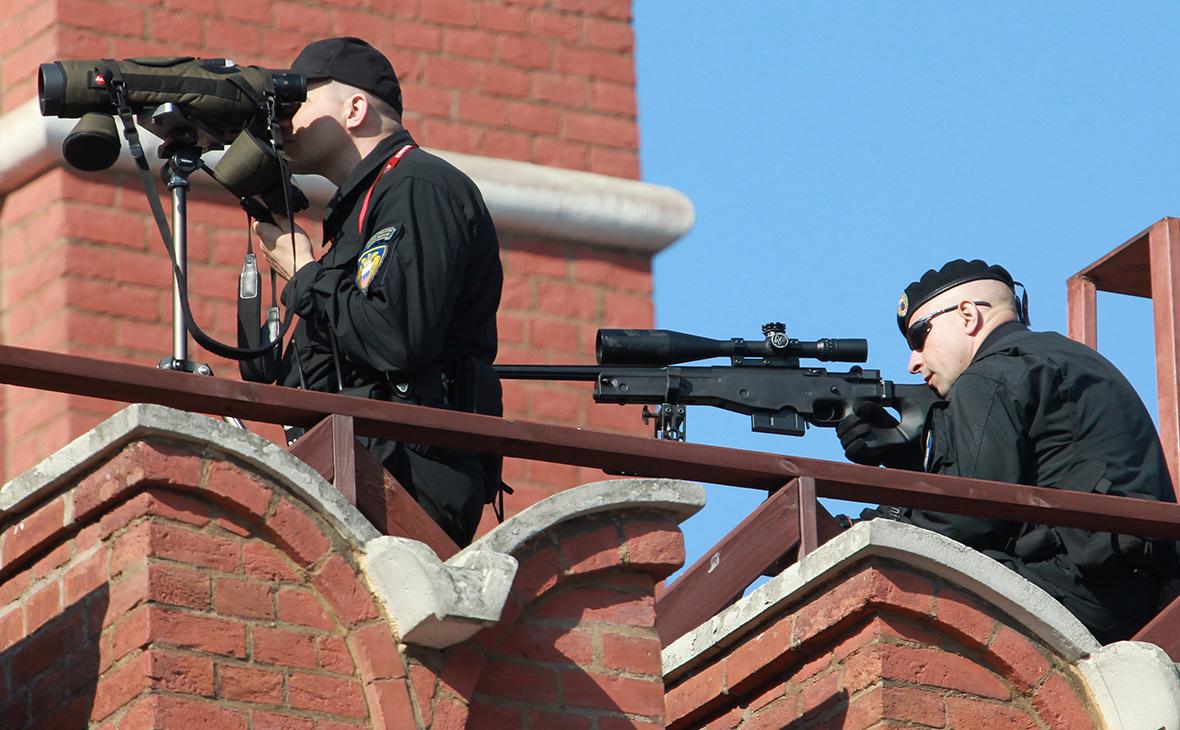 Снайперы ФСО