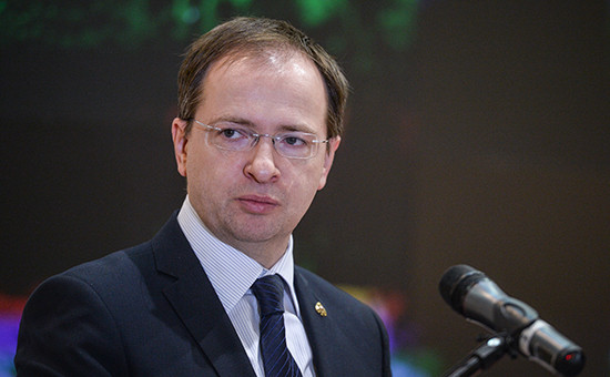 Министр культуры России Владимир Мединский