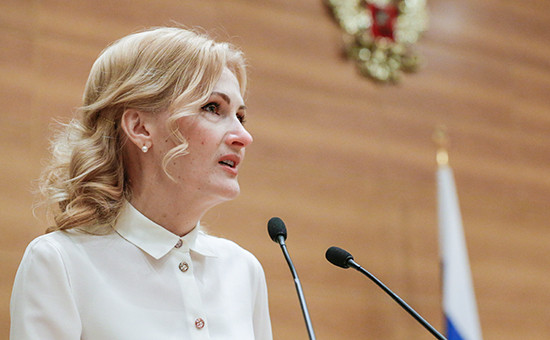 Председатель думского комитета побезопасности Ирина Яровая