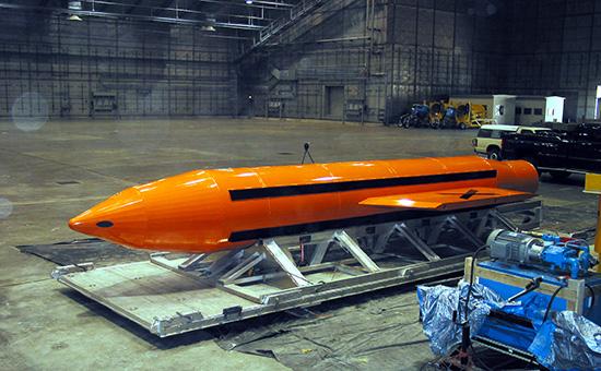 Мощнейшая неядерная бомба GBU-43/B