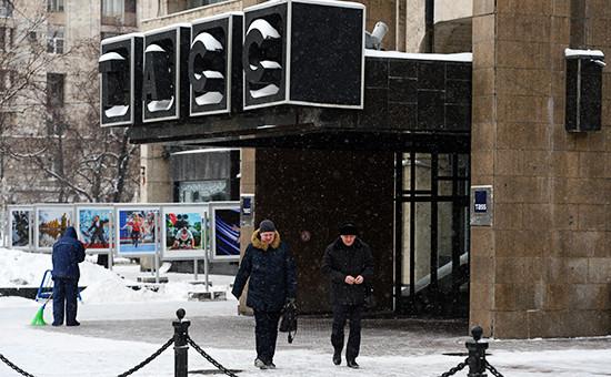 Здание ТАСС вМоскве