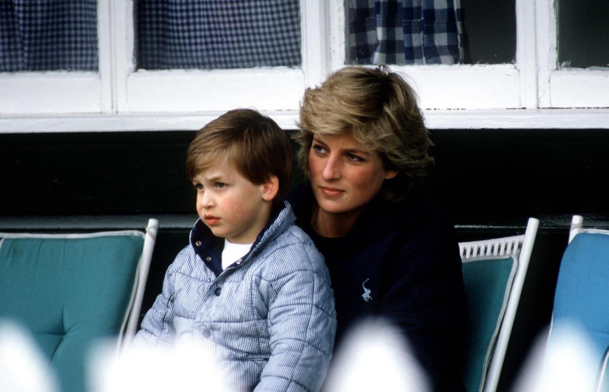 Принц Уильям и принцесса Диана, 1987