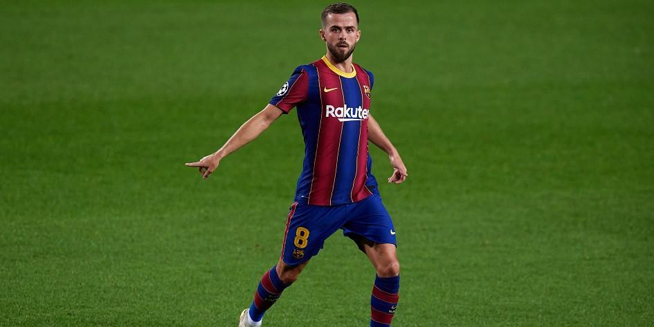 Футболист «Барселоны» Миралем Пьянич