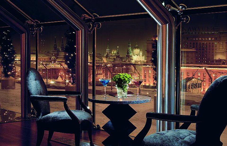 Интерьер отеля Ararat Park Hyatt Moscow