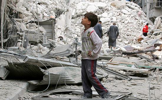 Алеппо. 23 сентября 2016 года