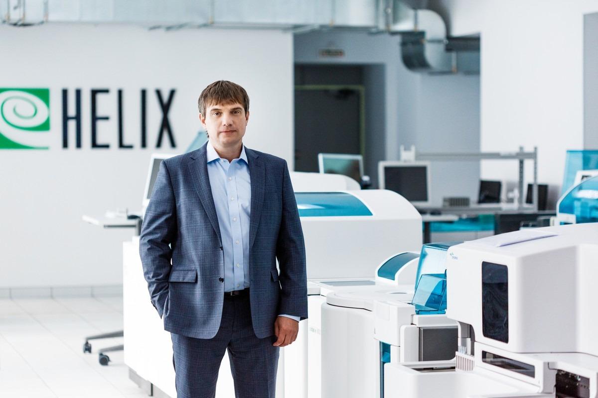 Юрий Андрейчук, генеральный директор лабораторной службы «Хеликс»