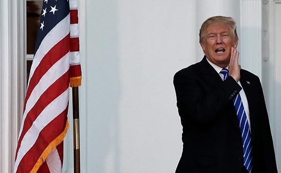 Новоизбранный президент США Дональд Трамп