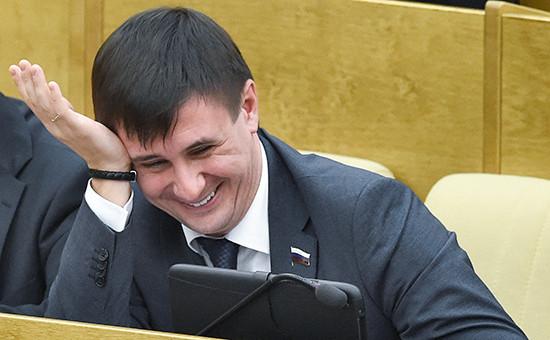 Депутат Госдумы от ЛДПР Вадим Деньгин