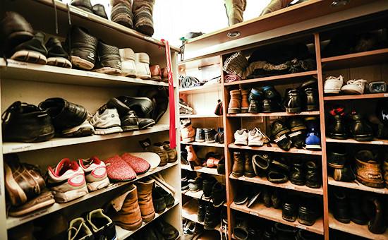 Обувные шкафы водном изхостелов вМоскве