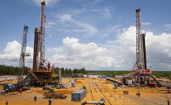 Работа на нефтяной скважине