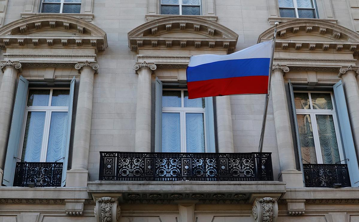 Здание Генерального консульства Российской Федерации в Нью-Йорке