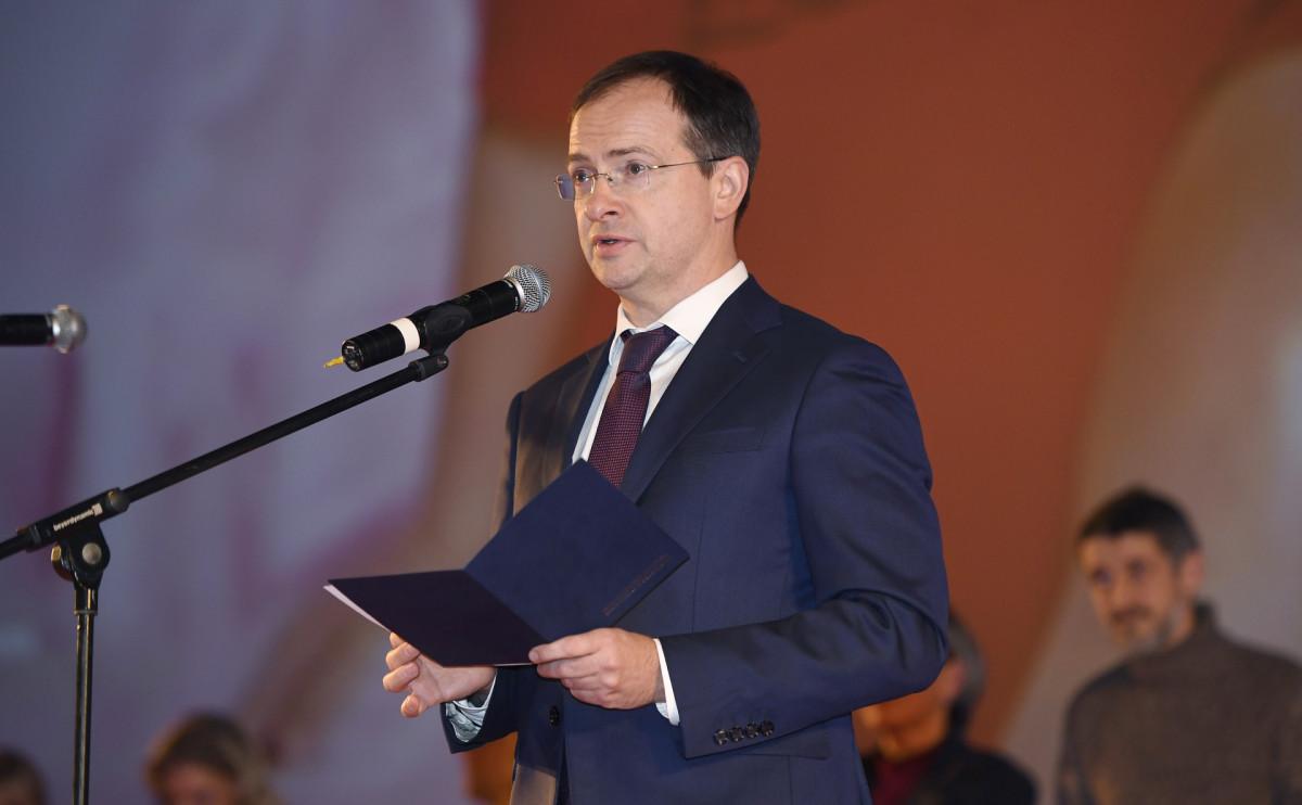 Помощник президента России, бывший министр культуры Владимир Мединский