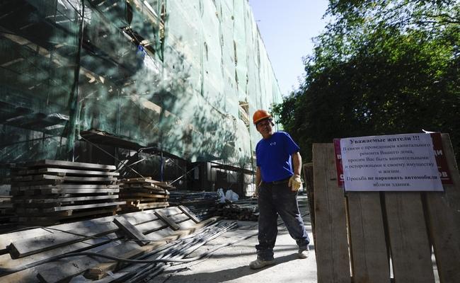 Фасадные работы в рамках капитального ремонта жилых домов