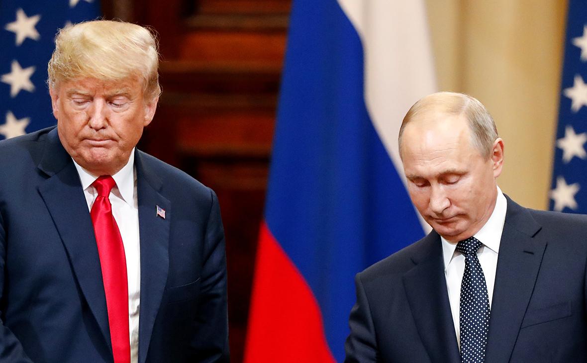 Владимир Путин и ДональдТрамп