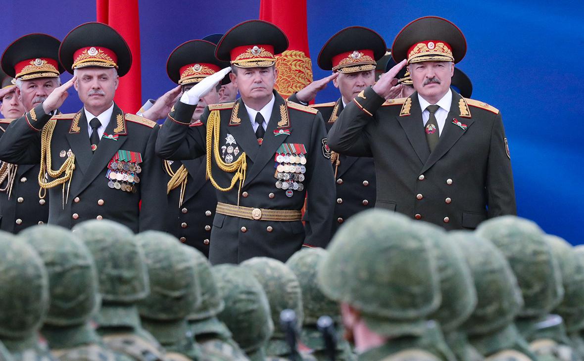 Андрей Равков иАлександр Лукашенко