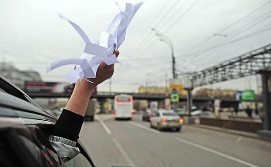Автопробег «Белое Кольцо» против политических репрессий в Москве