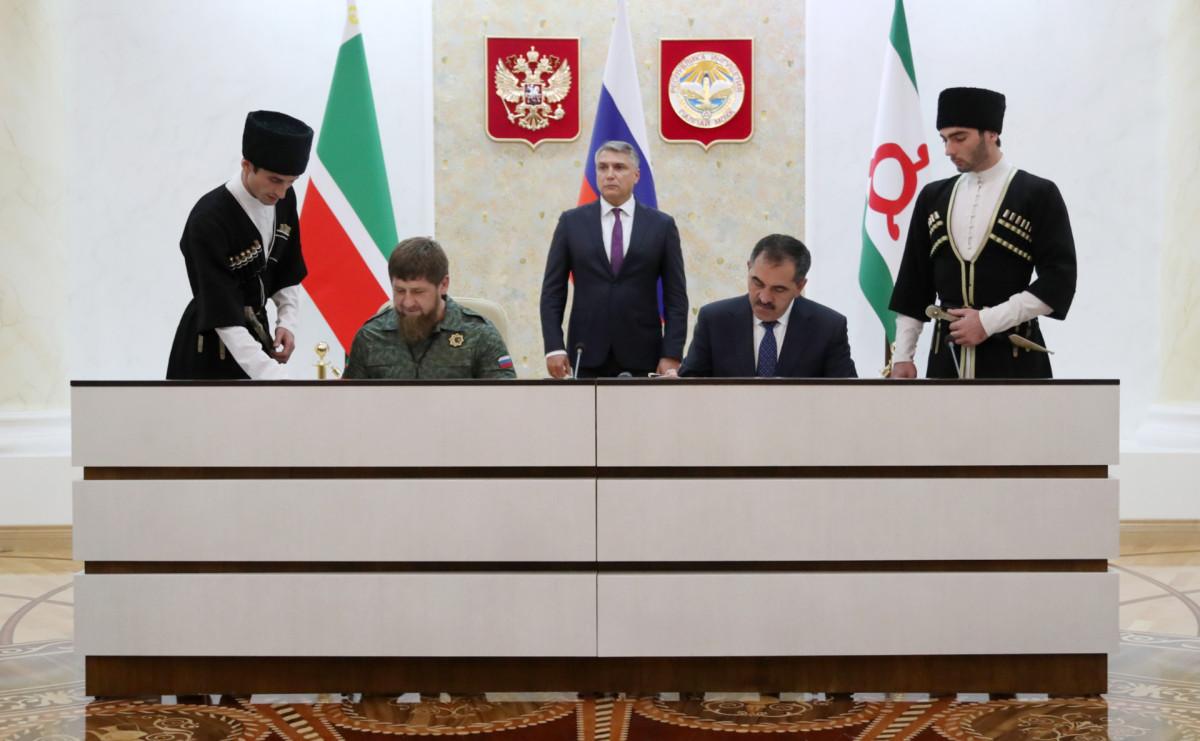 Фото: Пресс-служба главы Ингушетии / ТАСС