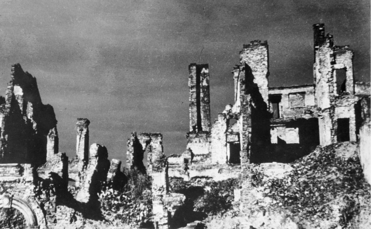 Варшава в 1944 году